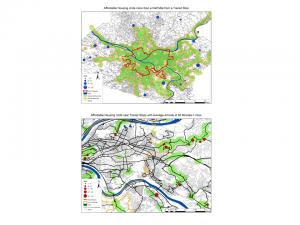Affordable Housing Transit Maps