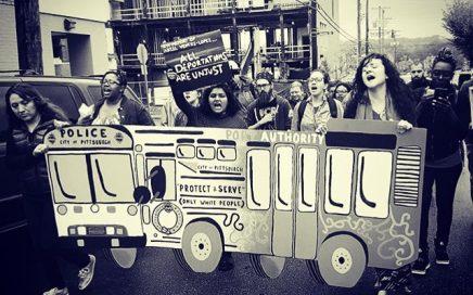 Don't Criminalize Transit Riders! photo credit: Kimmy Dinh, Thomas Merton Center