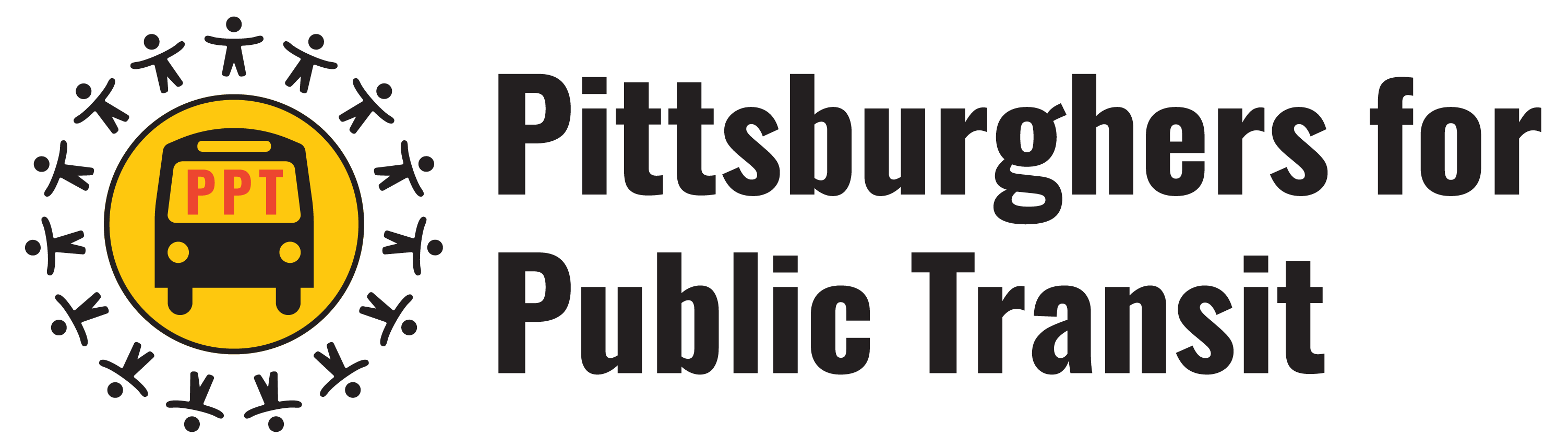 Pittsburghers for Public Transit Logo